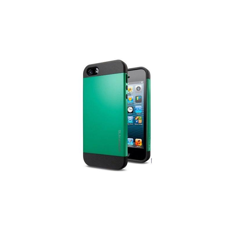 Iphone 5, pouzdro na mobil Armor, zelené, 1ks