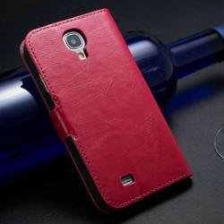 Pouzdro Butiko P&P pro Samsung Galaxy S4, 2v1 peněženka + pouzdro na mobil ,hnědá, 1ks