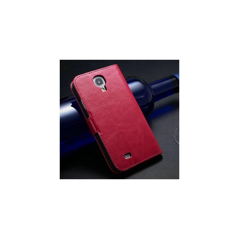 Samsung Galaxy S4, peněženka na mobil ,hnědá, 1ks