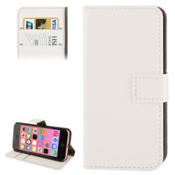 Iphone 5, pouzdro na mobil kožené Butiko, bílé, 1ks