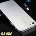 Iphone 5, pouzdro na mobil Butiko luxury, brouseny nerez 1ks