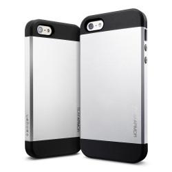 Iphone 5, pouzdro na mobil Armor, stříbrný, 1ks